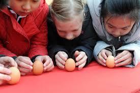balance eggs